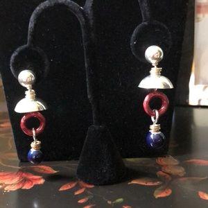 Vintage Mod Dangling Earrings